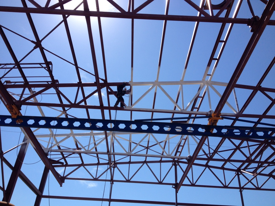 работы по защите металлоконструкций