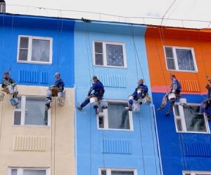 Строительные материалы для ремонта фасадов